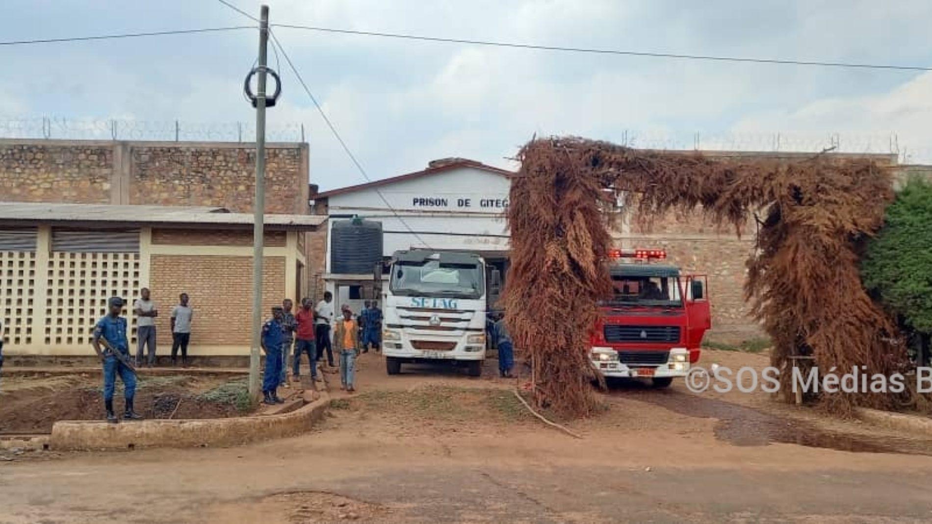 Gitega: un incendie signalé à la prison centrale de Gitega