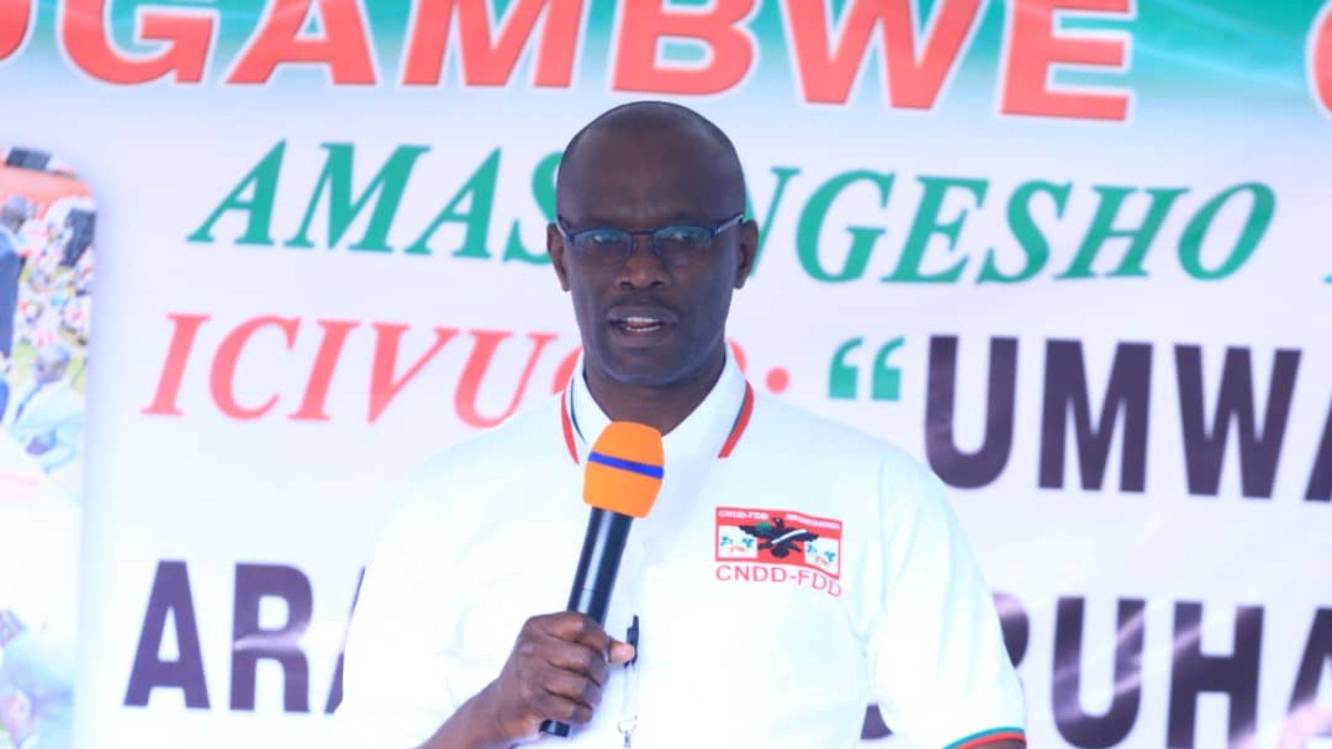 Ngozi : le CNDD-FDD tient un congrès pour renouveler ses organes
