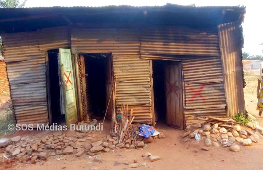 Une des maisonnettes qui doit être détruite à Ruyange