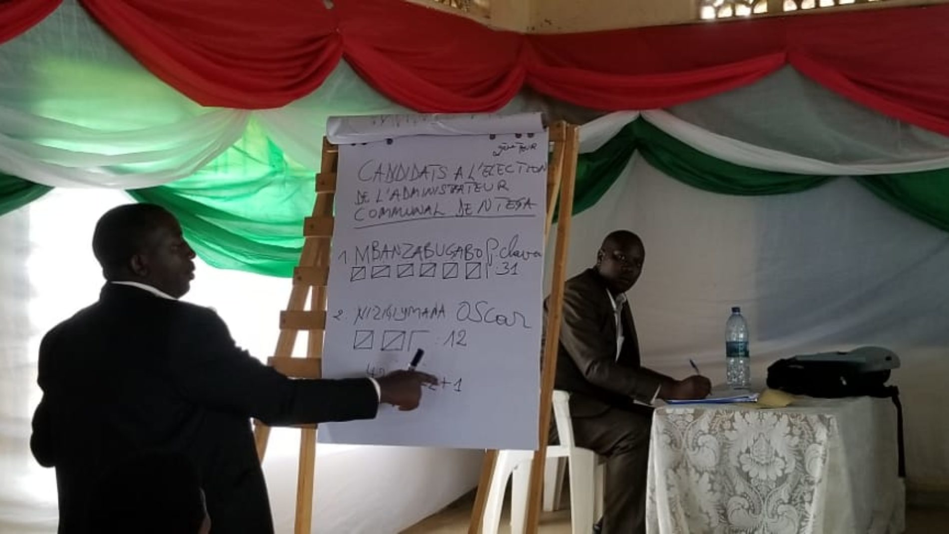 Kirundo : la commune de Ntega a un nouvel administrateur
