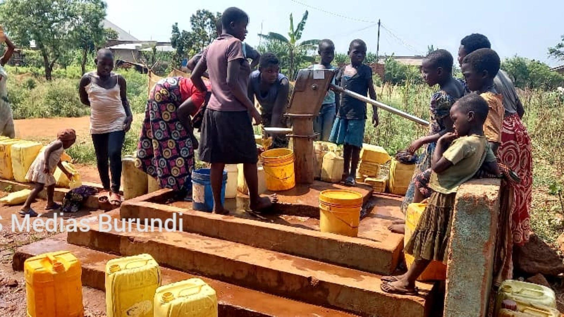 Photo de la semaine- Cibitoke : manque criant d'eau au chef-lieu et à Buganda