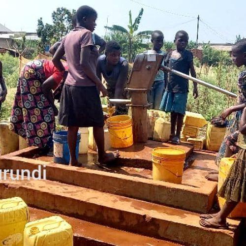 Cibitoke : manque criant d'eau au chef-lieu et à Buganda