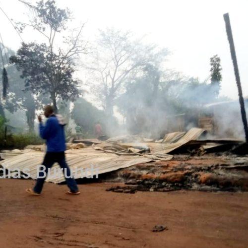 RDC-Irumu : 4 morts et d'énormes dégâts matériels