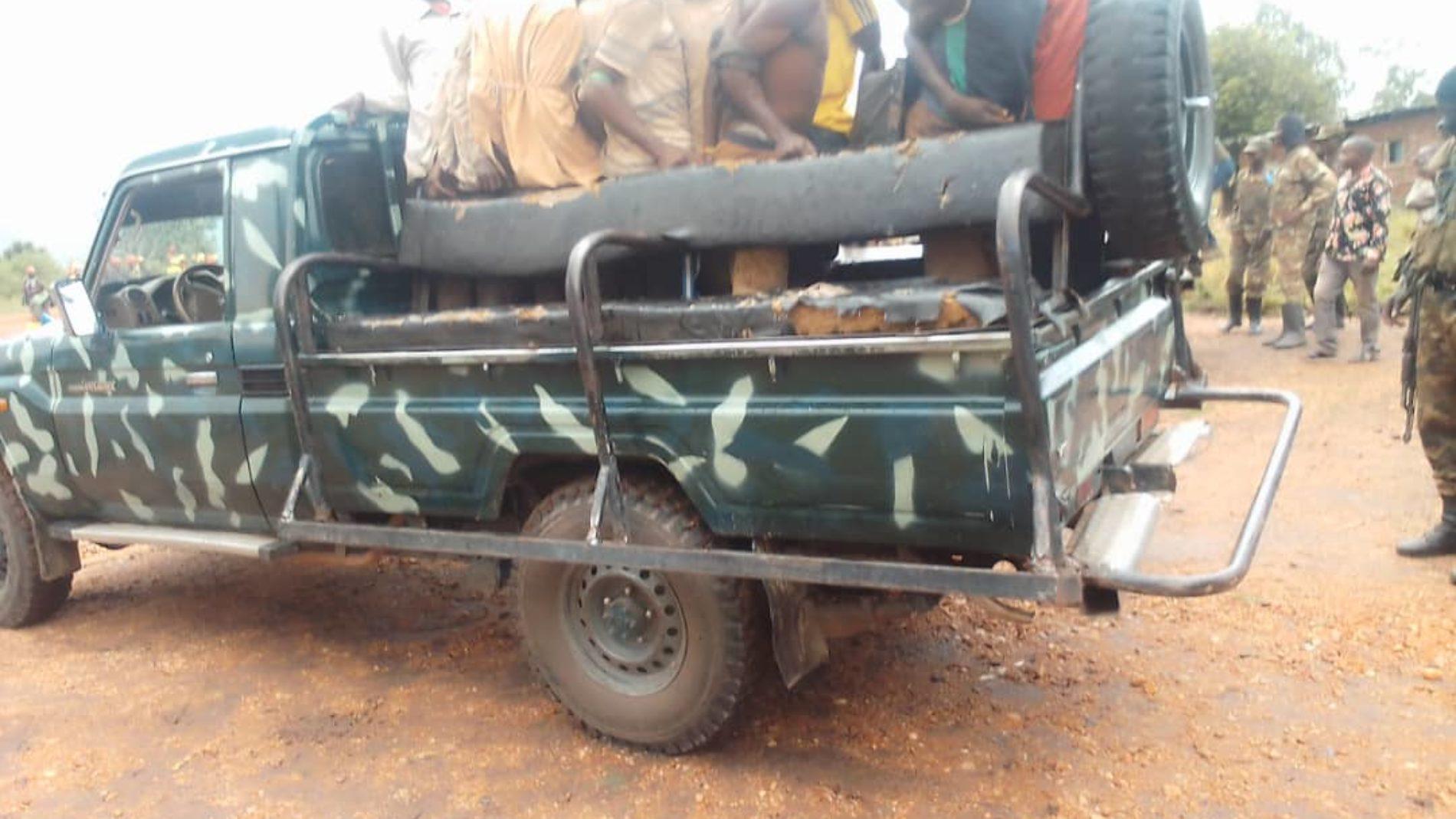 Sange (RDC) : les Burundais arrêtés voulaient rejoindre des groupes armés (armée)