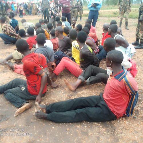 Photo de la semaine-Affaire-Sange : quatre familles ont reconnu leurs enfants parmi les interpellés