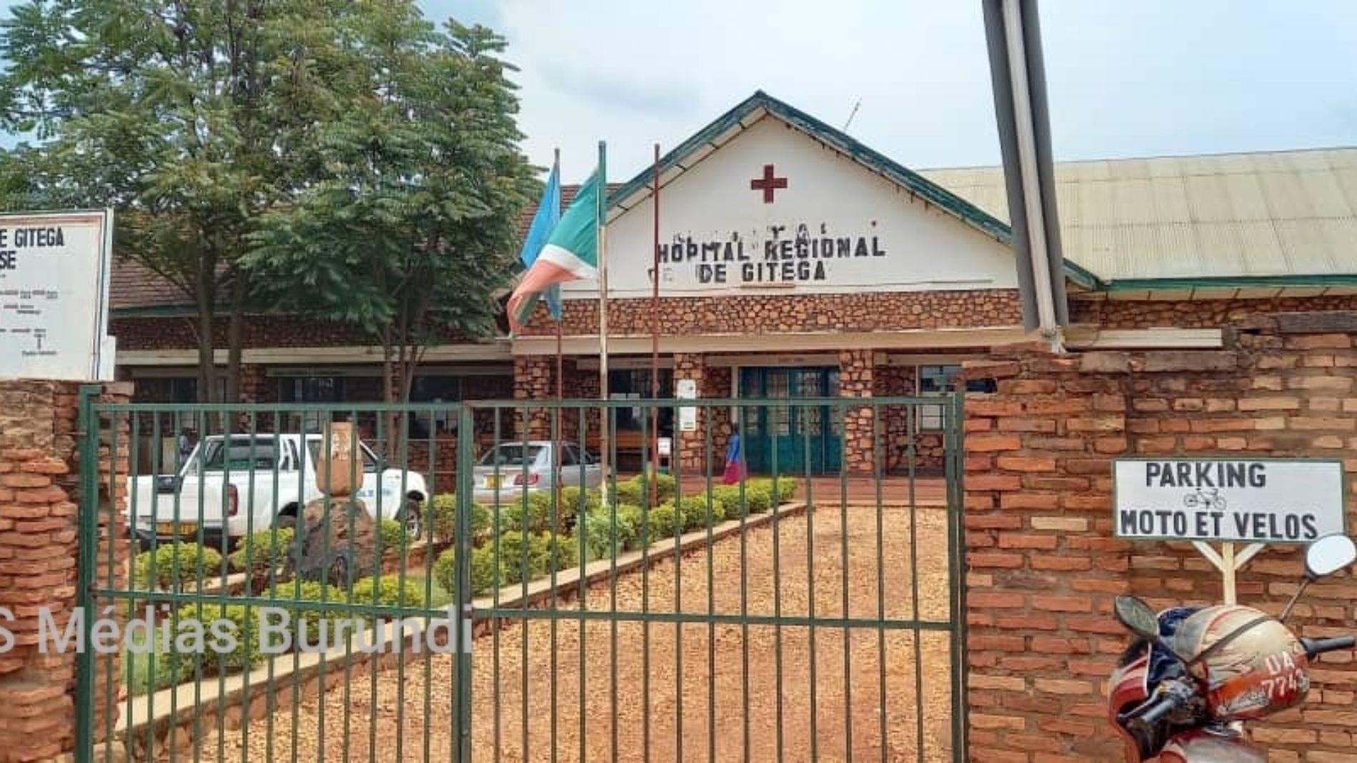 Gitega : une infirmière de l'hôpital régional en détention