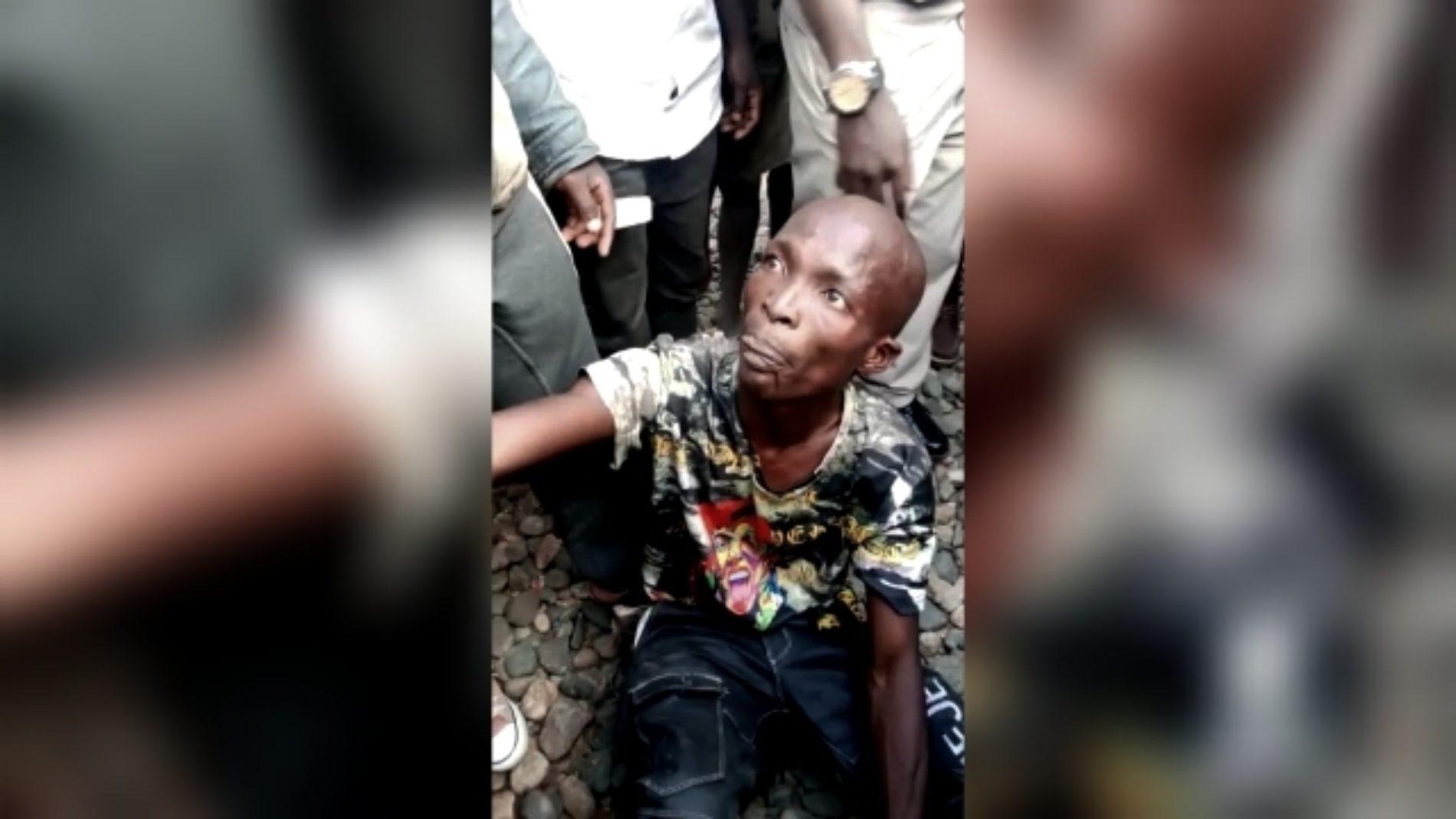 Photo de la semaine- Ruziba : le présumé auteur de l'attaque à la grenade exécuté sommairement